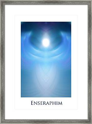 Enseraphim Framed Print by Jeff Haworth