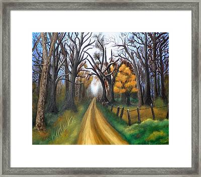 Entangled Framed Print by Amity Traylor