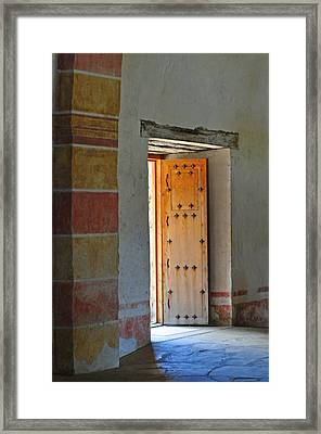 Enter Life Framed Print