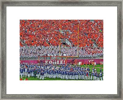 Enter Sandman Framed Print by Kathy Jennings