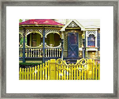 Enter The Victorian Age Framed Print