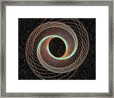 Entering Never Leaving Framed Print by James Steele