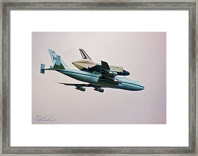 Enterprise 6 Framed Print by S Paul Sahm