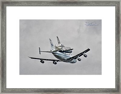 Enterprise 7 Framed Print by S Paul Sahm
