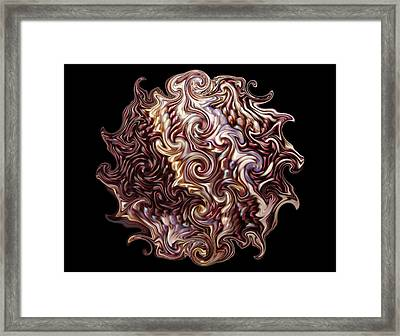Enticement Framed Print by Yvette Pichette