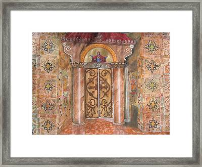 Entrance Framed Print by Constantinos Louca