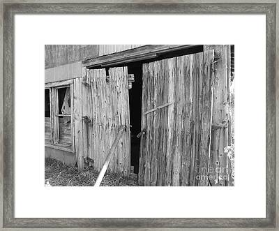 Entrance Framed Print by Hendrix Moore