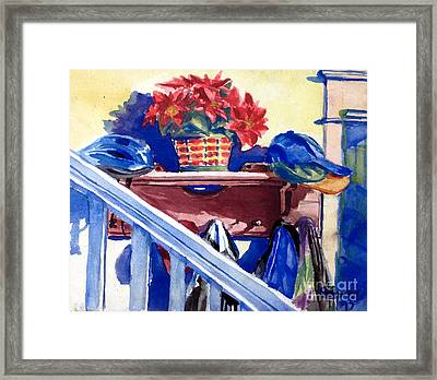Entrance Framed Print by Mike N