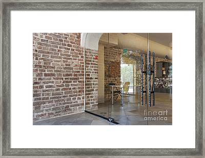 Entrance To A Traditional Music Center Framed Print by Jaak Nilson