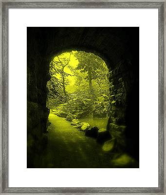 Entrance To Fairyland Framed Print by Maria Scarfone