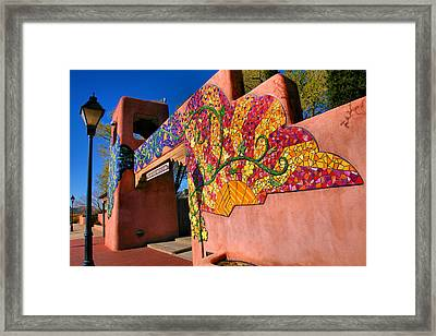 Entrance To Old Town Plaza I Framed Print by Steven Ainsworth