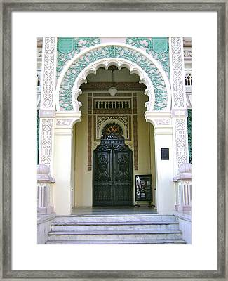 Entrance To Palacio De Valle Framed Print by Laurel Fredericks