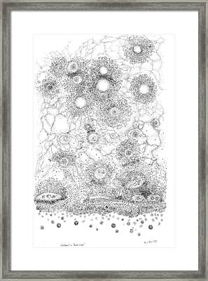 Entropic Repulsion Framed Print by Regina Valluzzi