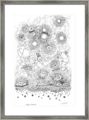 Entropic Repulsion Framed Print by Regina Valluzzi