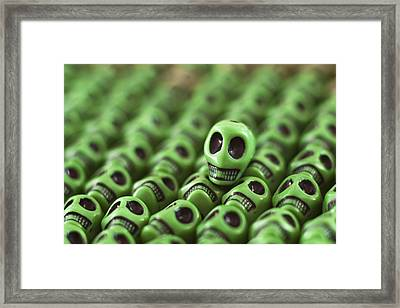 Envious Smile Framed Print