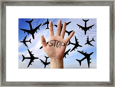 Environmental Protest Framed Print