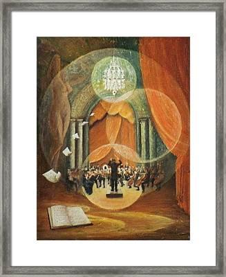 Envolee Lyrique Framed Print by Frank Godille