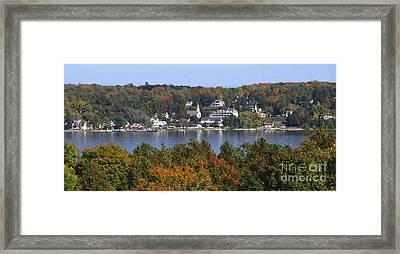 Ephraim And Eagle Harbor Framed Print