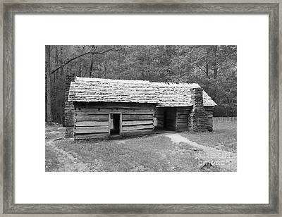 Ephraim Bales Cabin II Framed Print
