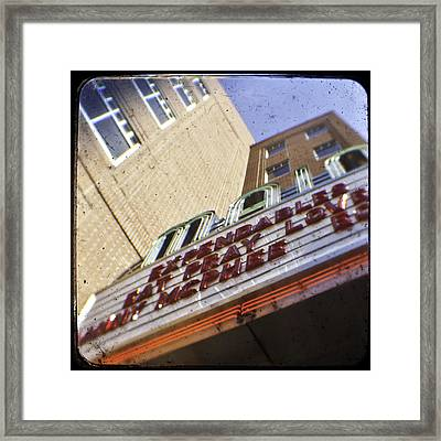 Ephrata Main Theatre Framed Print by Christopher Kulfan