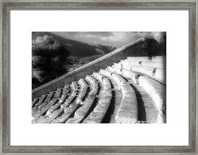 Epidavros Theatre Framed Print by Andonis Katanos