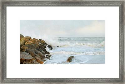 Framed Print featuring the photograph Epogee by Karen Lynch