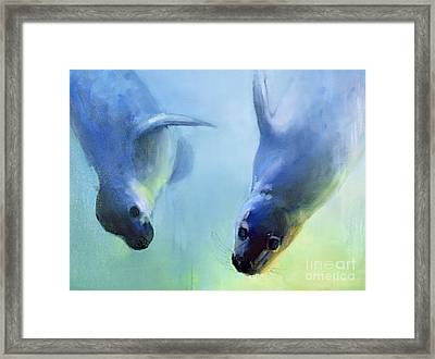 Equally Fascinating Framed Print by Mark Adlington