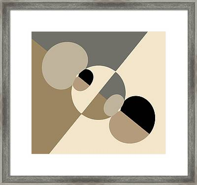 Equilibrium Framed Print by Mark Greenberg
