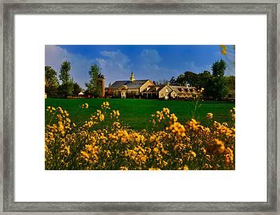 Erdenheim Farm In Flourtown Framed Print by Bill Cannon
