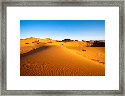 Erg Chebbi Framed Print by Kelly Cheng Travel Photography