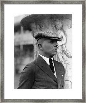 Erich Von Stroheim, Ca. 1923 Framed Print by Everett