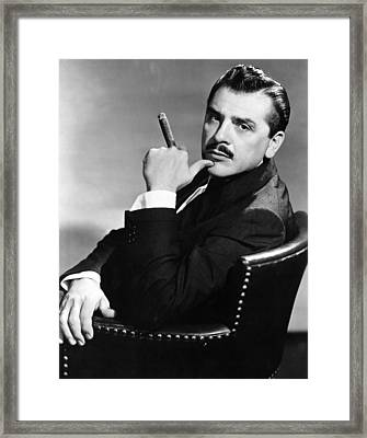 Ernie Kovacs, Late 1950s Framed Print by Everett