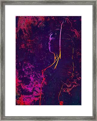 Erotic Fog Framed Print by Steve K