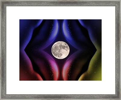 Erotic Moonlight Framed Print