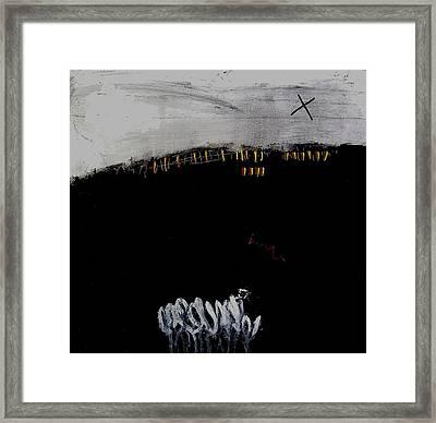 Eruption  Vii Framed Print by Jorgen Rosengaard