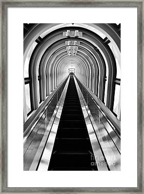 Escalation Framed Print by Dean Harte