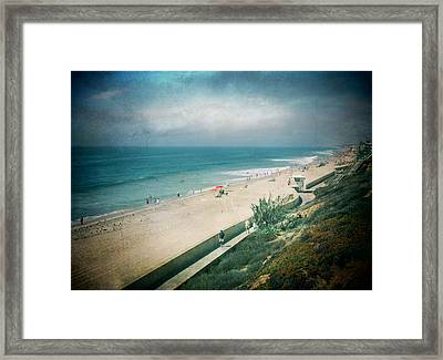 Escape For A Day Framed Print by Laurie Search