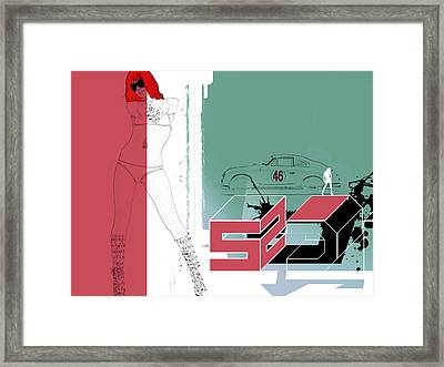 Escape Framed Print by Naxart Studio