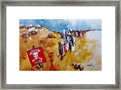 Escape.. Framed Print by Negoud Dahab