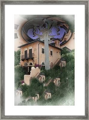 Escher's Dream Framed Print by Nina Fosdick