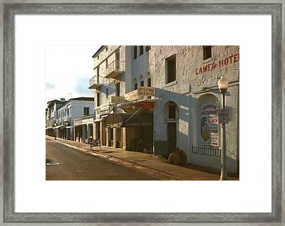 Espanola Way, Photograph By Walter Framed Print by Everett