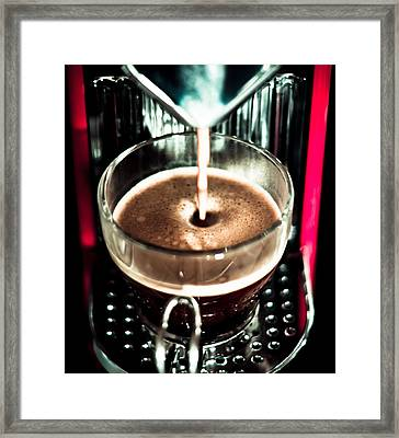 Espress Yourself Framed Print by Justin Albrecht