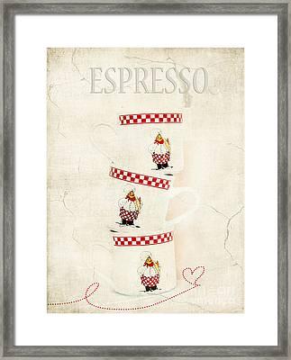 Espresso Framed Print by Darren Fisher