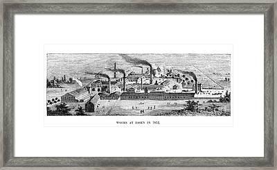 Essen: Krupp Works, 1852 Framed Print