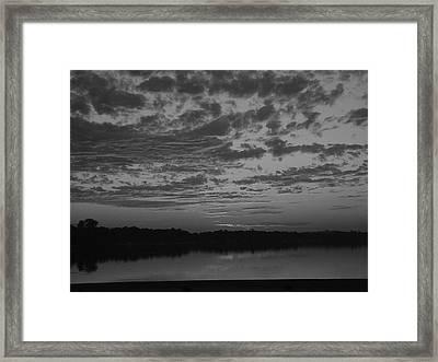 Essence Of A Sunrise Framed Print by Dennis Leatherman