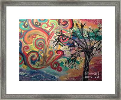 Essence Of Spring. Framed Print by Catherine Herbert