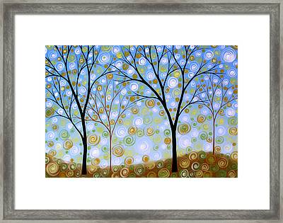 Essence Of The Day Framed Print by Amy Giacomelli