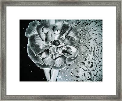 Essence Framed Print by Saheed Fawehinmi