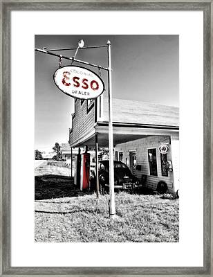 Esso Express Framed Print by Chad Tracy