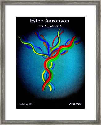 Estee Aaronson Framed Print